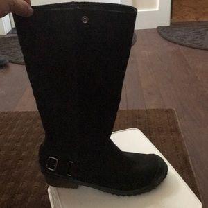 Sorel high black boot